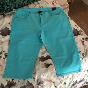 NWT Lane Bryant Stretch Capri Pants